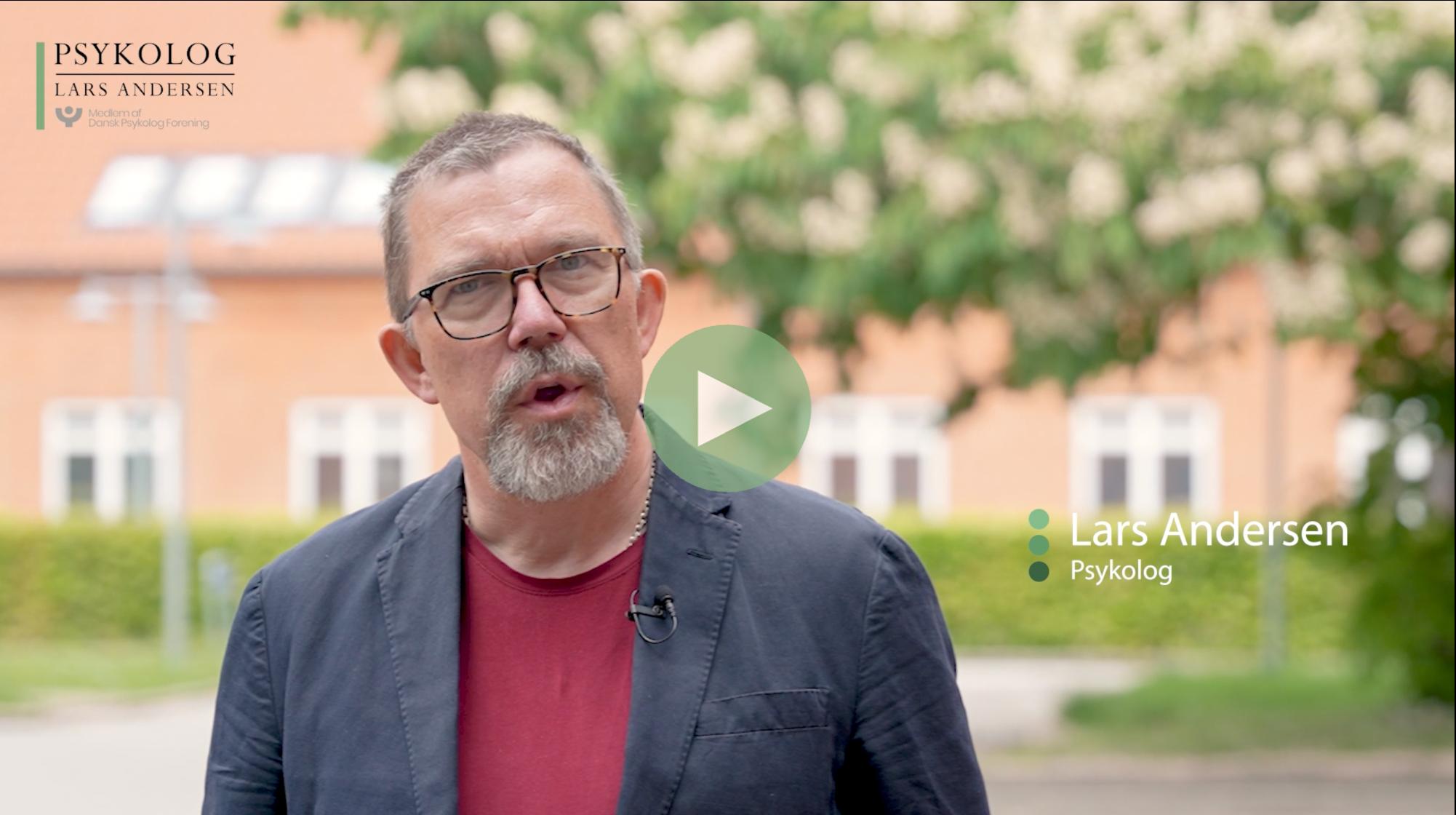 Beredskab psykolog Lars Andersen